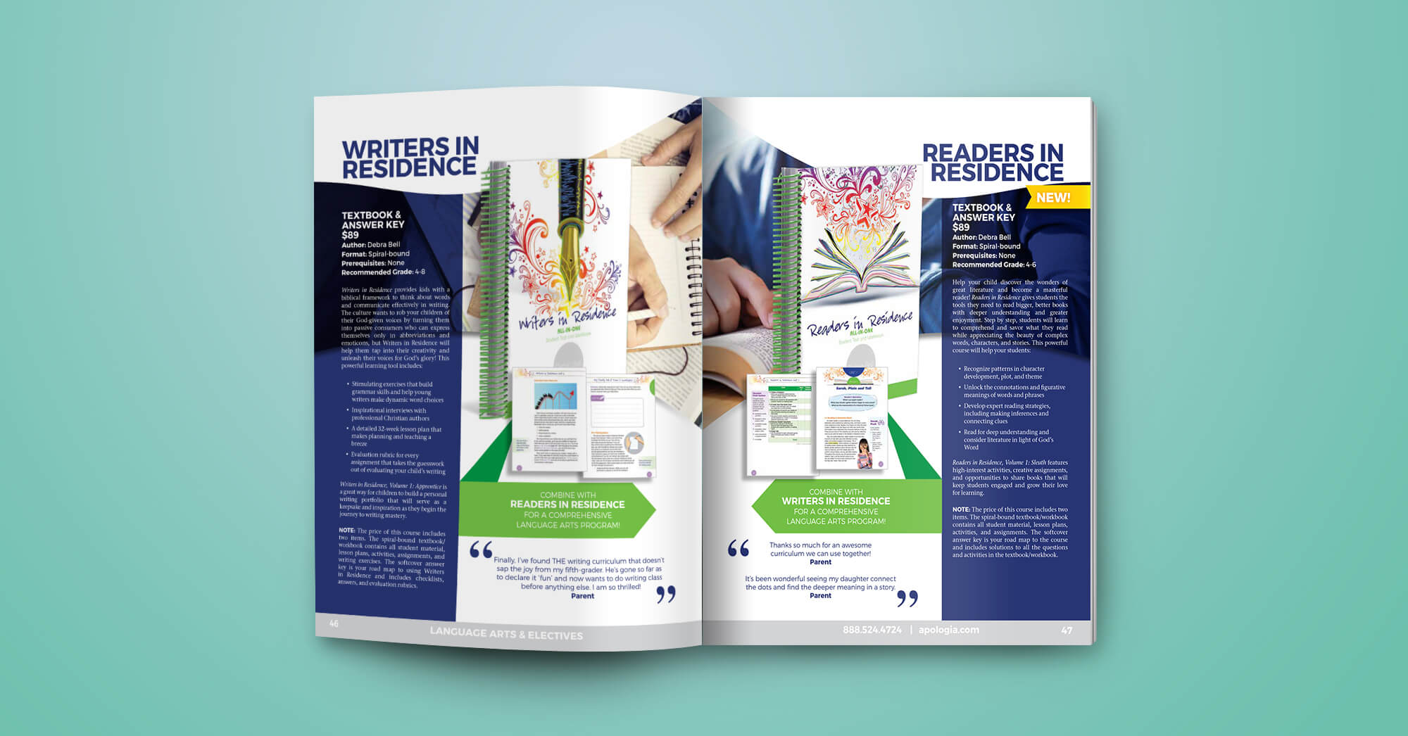 Writing Curriculum Workbook Design