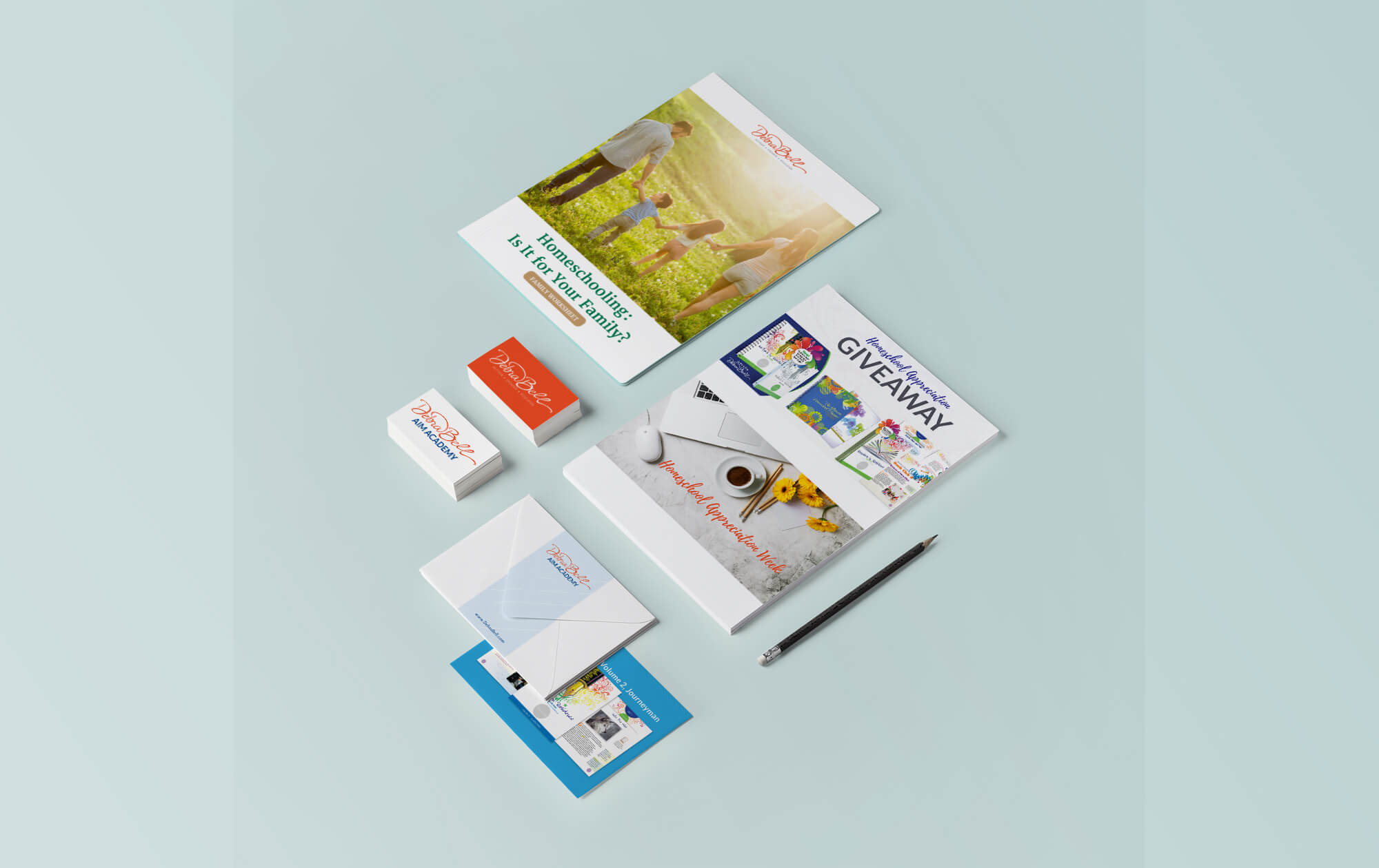 DebraBell Branding & Collateral Development