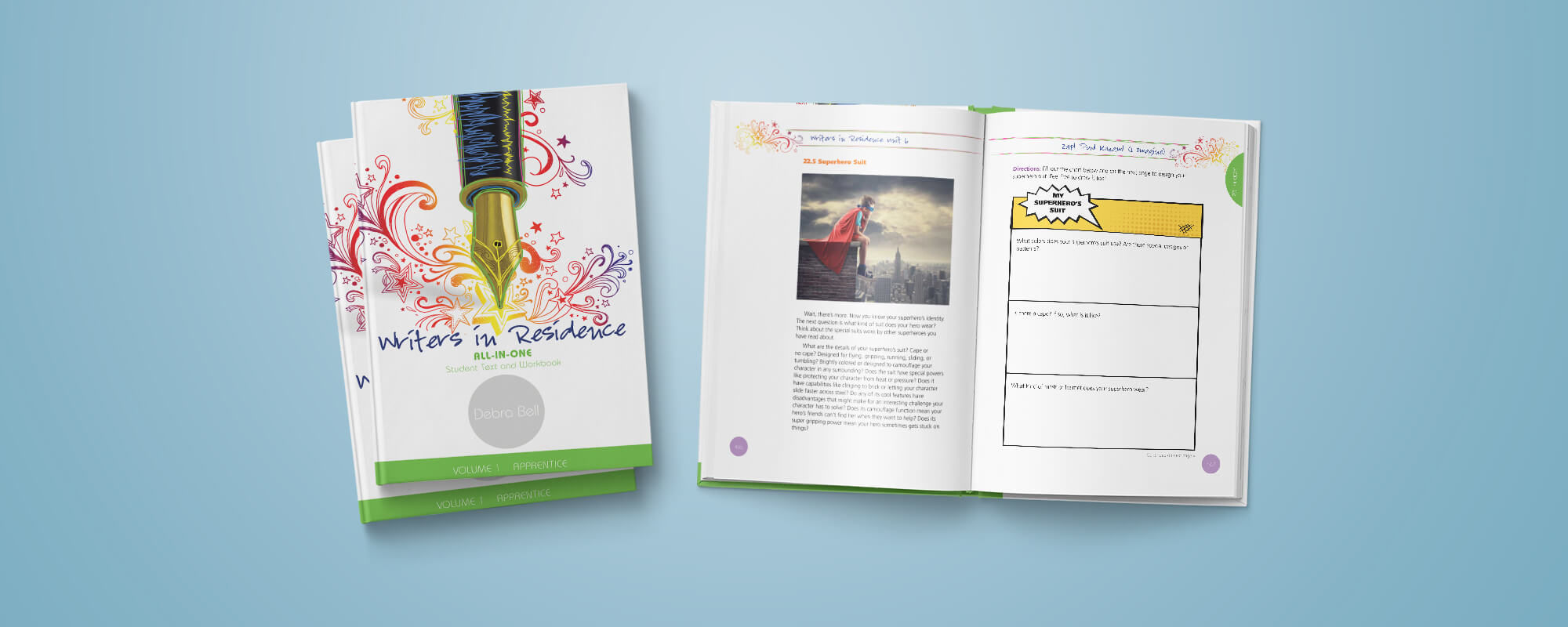 Writing Curriculum Workbook Design