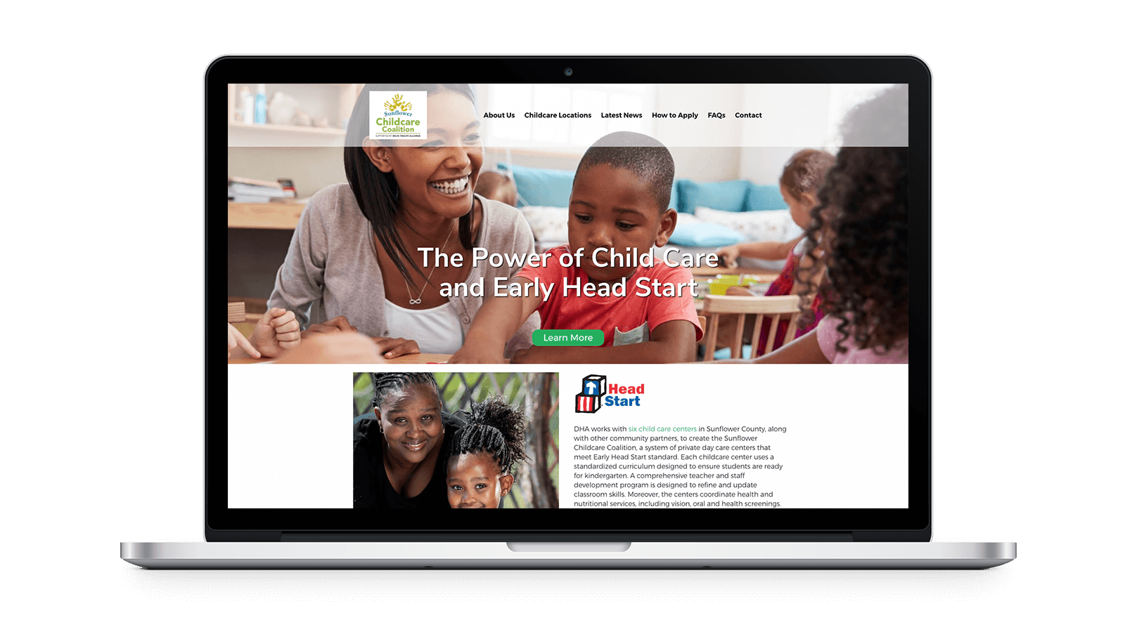 Early HeadStart Website Comp, Image 4