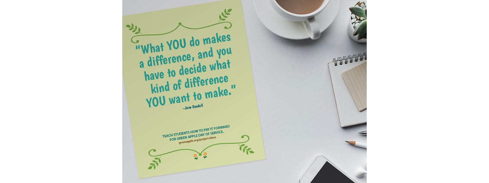Sustainability Classroom Poster Set, Image 5