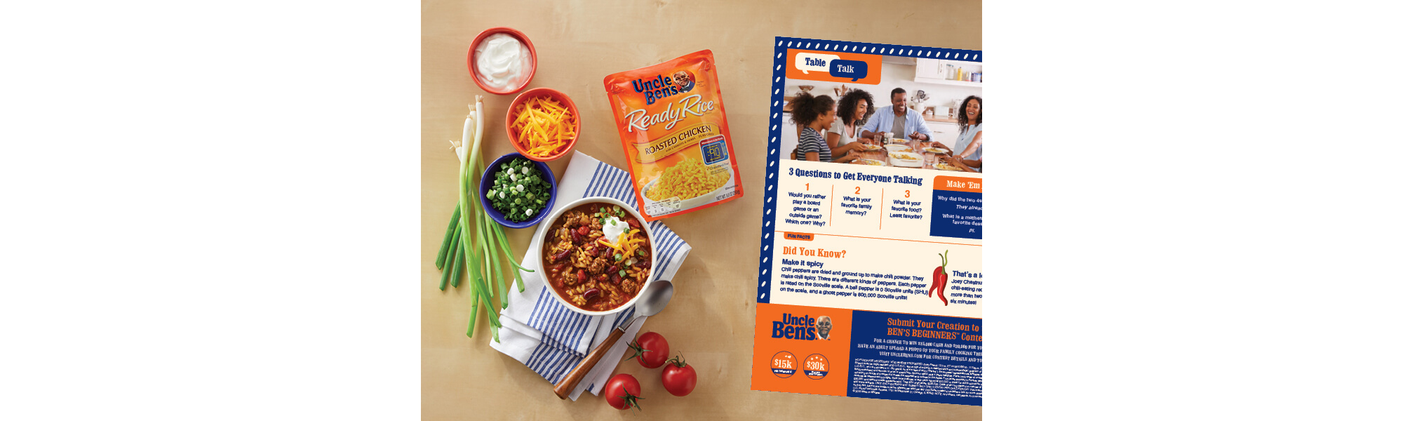 Uncle Ben's Cooking Guides, Image 4