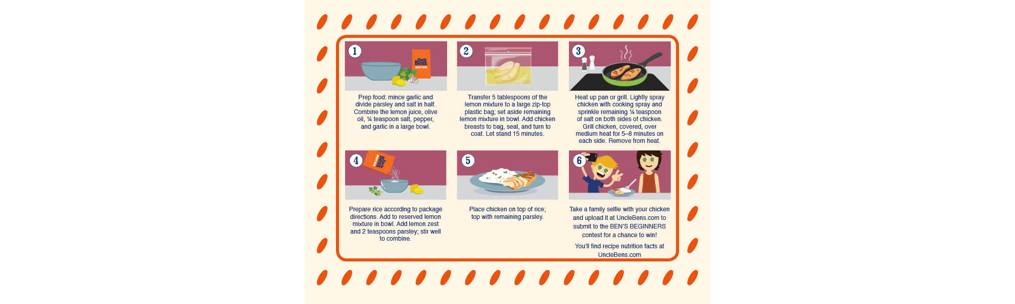 Uncle Ben's Cooking Guides, Image 2