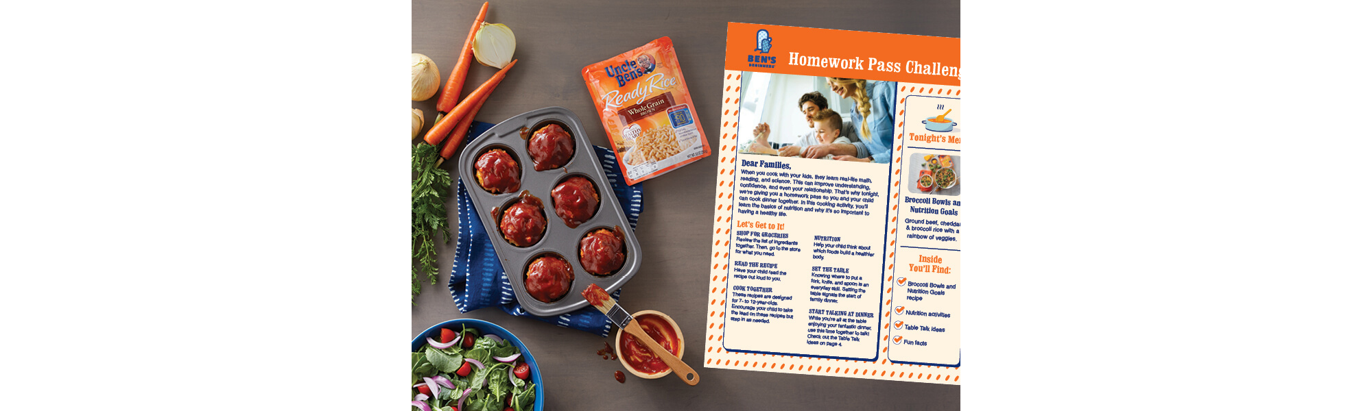 Uncle Ben's Cooking Guides, Image 1